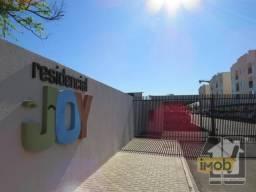 Apartamento com 2 dormitórios para alugar, 52 m² por R$ 1.950,00/mês - Residencial Joy - F