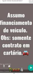 Assumo financiamento.