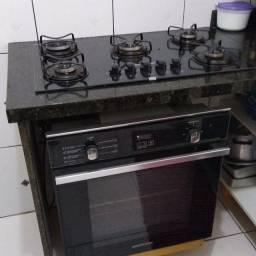 Cooktop e forno, Instalação com material