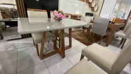 Mesa mogno 4 completa madeira e acabamento laka