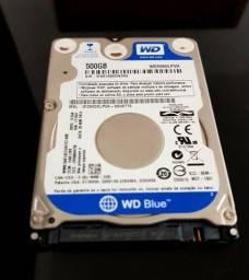 HD 500 Gb para notebook.