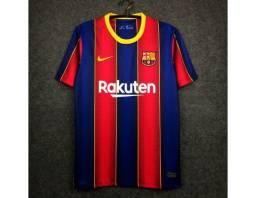 Camisa do Barcelona I 2021 - Grená