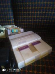 Console super Nintendo +10 jogos R$800,00