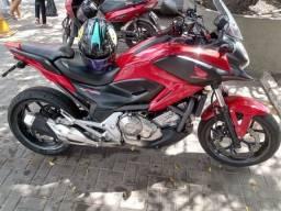 Vendo nc 700 x 2013 Aceito moto menor 24.500