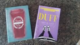Livros usados ( O homem que calculava, Duff e Naomi e Ely)