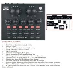 Placa de interface de áudio multifuncional