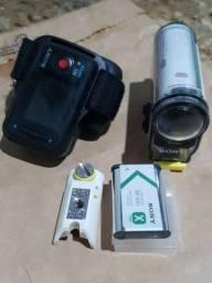 Sony Action Cam Hdr-as100v + Controle Remoto (visor) *aceito cartão*