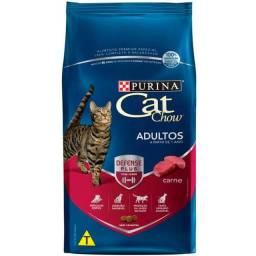 Ração Nestlé Purina Cat Chow Adultos Carne -10kg