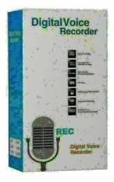 Gravador De Voz Lcd Mp3 Player Digital Voice Recorder<br>