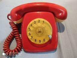 Telefone vermelho vintage