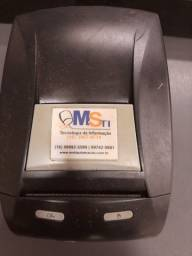 Impressora fiscal, leitor de codigo de barras e caixa