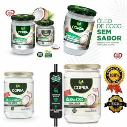 ÓLEO DE COCO SEM SABOR E SEM CHEIRO