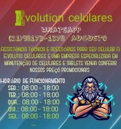 Evolution celulares assistência técnica