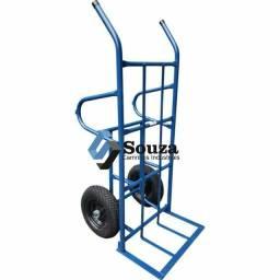 Carro armazém pneumático com pés reforçado 400kg