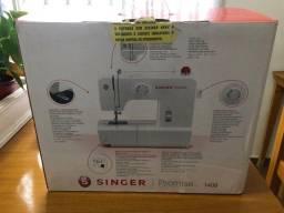 Máquina de Costura Singer Doméstica Promise 1408 - Branca