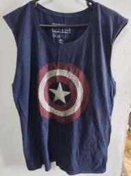 Camiseta Capitão America Marvel