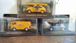Miniaturas de carros, coleção veículos de serviços do Brasil