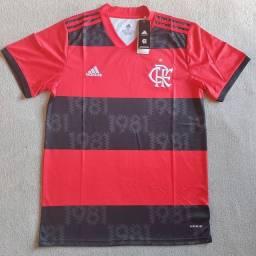 Camisa Flamengo Casa 2021/2022 Adidas