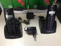 Telefone fixo Intelbras Ts 40 ID com identificador de chamadas