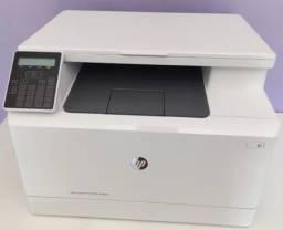 Impressora multifuncional Hp Laserjet Pro M180nw Wifi 110v Branca