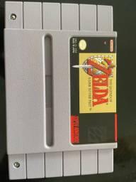 Cartucho jogo super Nintendo zelda