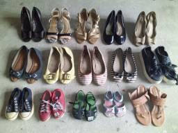 Lote de sapatos (Leiam a Discrição)
