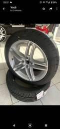 Roda 17 com pneu novo 0