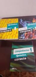 Pacote livros de Química  - Conecte Saraiva