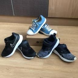 Tênis Tip Toey Joey, Nike e Puma