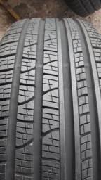 Jogo de pneus e rodas praticamente zero original da evoque aro 18