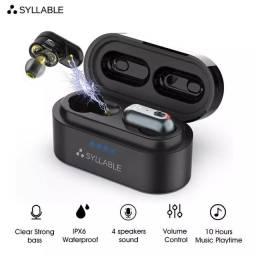 syllable s101 tws apt-x bluetooth 5.0 earphones