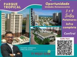 Título do anúncio: 3 suítes , Varanda Gourmet , 2 vagas , 113m² , Patamares , Parque Tropical