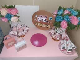 Decoração de mesa Dia das mães 50,00