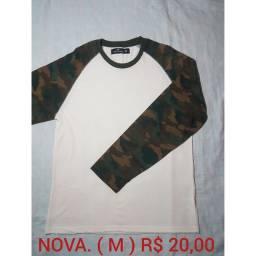 Camisas manga longa Tam. M