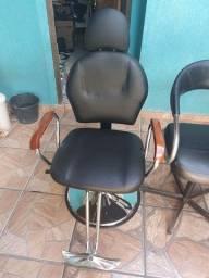 Cadeira reclinável e hidráulica nova
