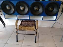 Vendo Alto falante Eros MG 600rms ou troco por alta voltagem