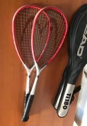Par de Raquetes de squash head ti 180