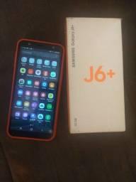 Samsung J6 plus 32 GB - leitor de digital e facial