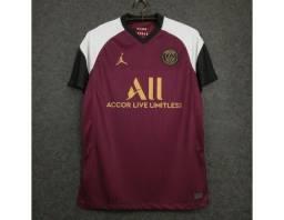 Camisa Do Psg Iii 2021 - Roxa Oficial