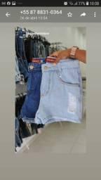 Shorts feminino disponível