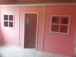 Casinha de Madeira Grande Rosa