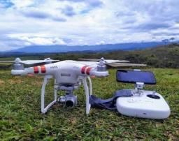 Drone DJI Phantom 3 Standart + Motog 5 Plus