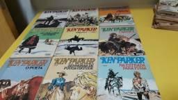 (Item 225) lote com 43 revistas Ken Parker da vecchi