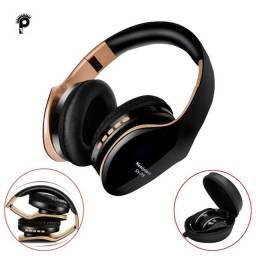 Fone Bluetooth Headset SN-P18 mais Bolsa Protetora Reforçada