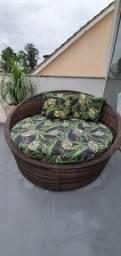 Chaise sofá varanda (1,30 X 1,30)