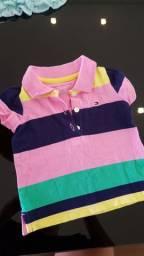 Camiseta menina 3-6 meses. Tommy hilfiger