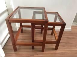 Mesa de madeira de verdade