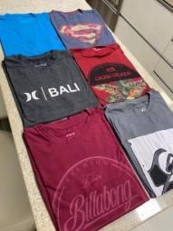 Camiseta de surf masculina