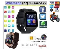 Relógio Celular Bluetooth, Camera Android Usb e Chip