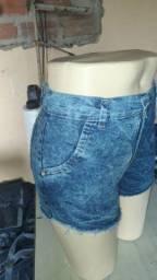 Shorts feminino tem por cento lycra no tamanho 36 ao 46